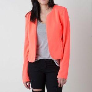 BLVD Jackets & Coats - BLVD Neon Flyaway Blazer Size XL